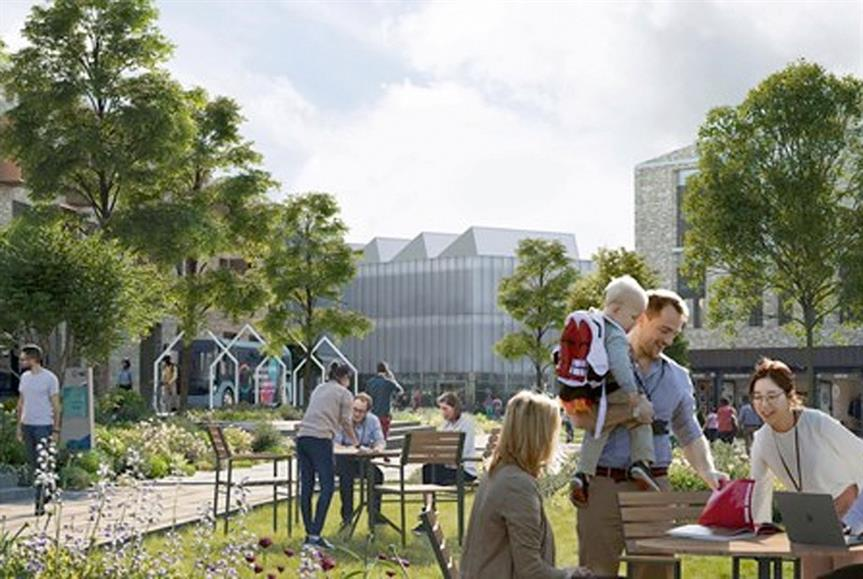 Plans for genome campus expansion approved. Image by Wellcome Trust