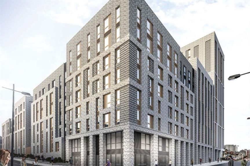 A visualisation of the development (pic: Whittam/Cox architects)