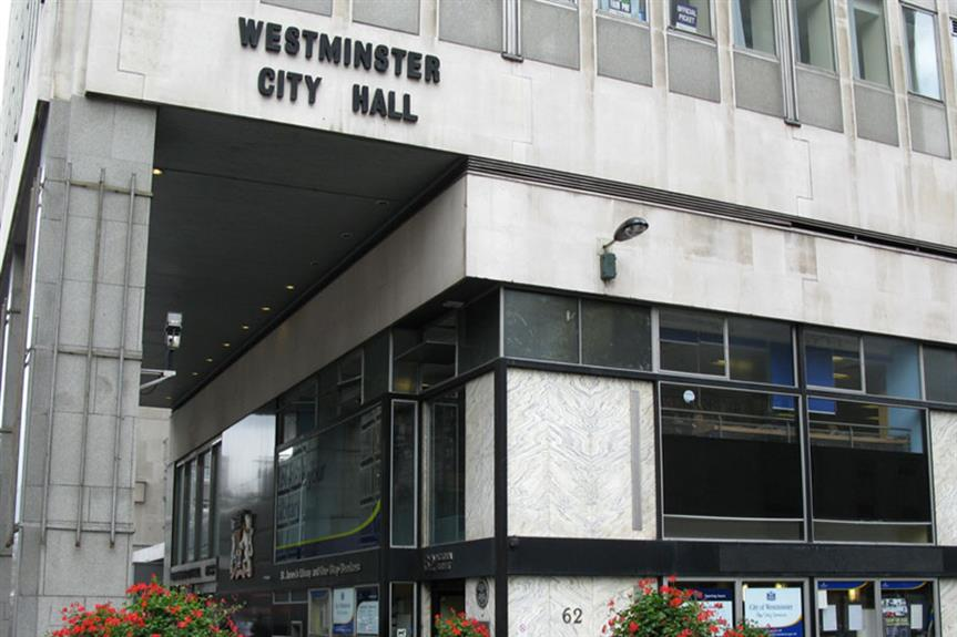 Westminster: local plan to be submitted for examination