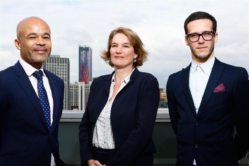 Team: principal corporate solicitor Sean Murphy, senior regeneration manager Janet Davies and south area development management team leader Ross Gentry [pic Julian Dodd]