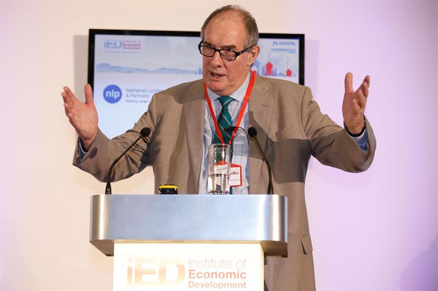 Will Hutton speaking at the IED Annual Conference yesterday