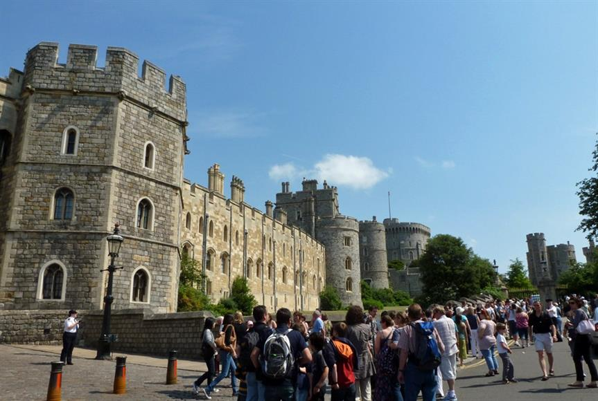 Windsor Castle. Image by Paula Funnell, Flickr