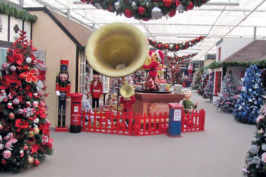 The Winter Wonderland attraction (pic: Tendring District Council)