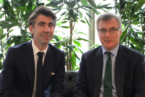 Integration moves from 'PowerPoint pipe dream to reality' - Edelman EMEA boss ED Williams (left) and Smithfield co-founder John Kiely