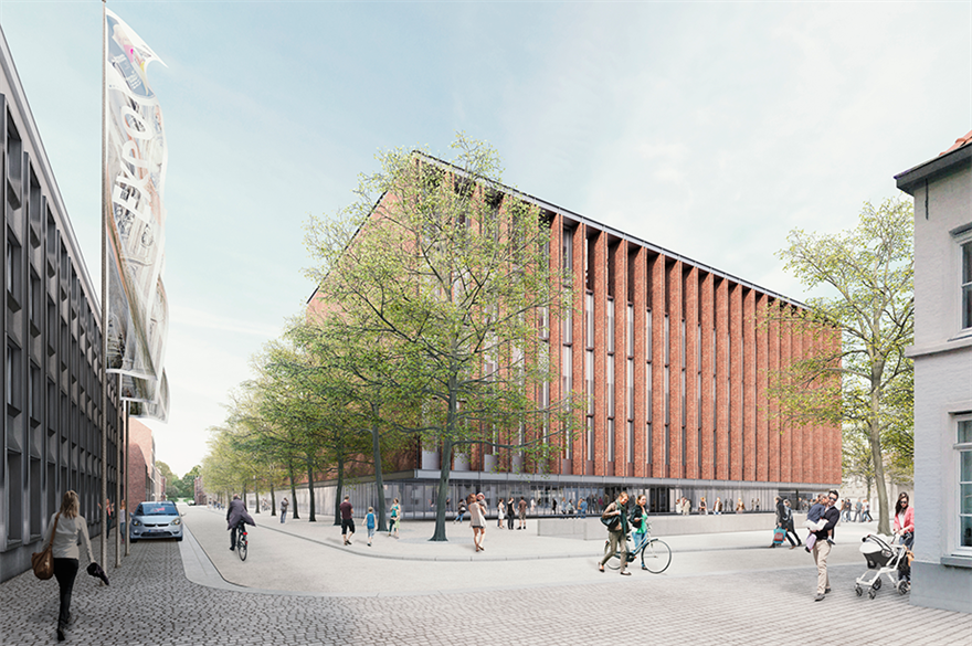 Bruges to open new convention centre in 2021