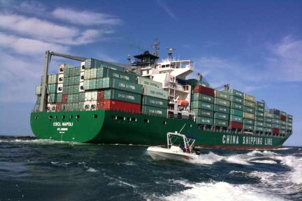 Transport - Container ship 2 - Credit: Ines Hegedus-Garcia CC BY 2.0