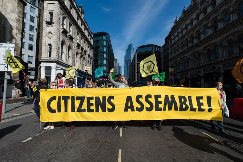 Climate assemblies: will the results live up to expectations? Photo: Wiktor Szymanowicz/Barcroft Media via Getty Images