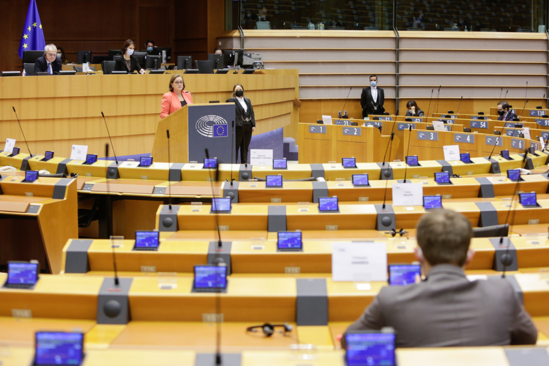 Plenary: MEPs voted on ETS allowances, corporate due diligence and greener construction products (Image credit: © European Union 2021 - Source : EP)