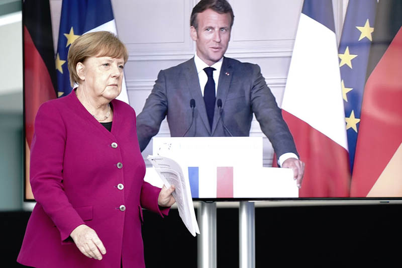 Germany, France propose 500 bil. euro fund