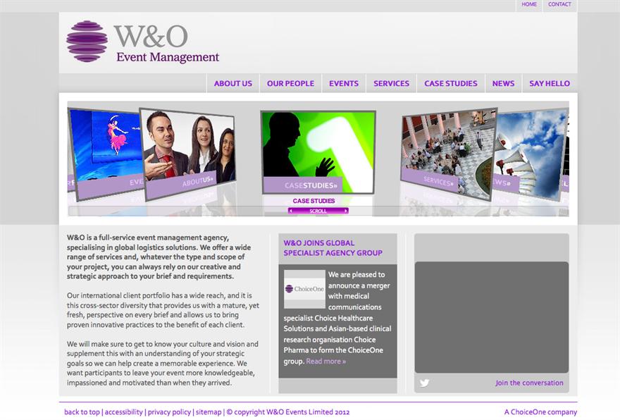 C&IT Top 50 agencies ranking: W&O Events