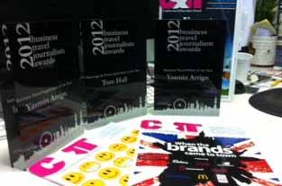 C&IT scoops three awards at Carlson Wagonlit Travel's BTJAs