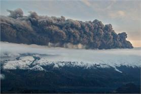 Volcanic ash caused disruption in 2010