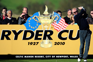 Ryder Cup 2010 was held at Celtic Manor