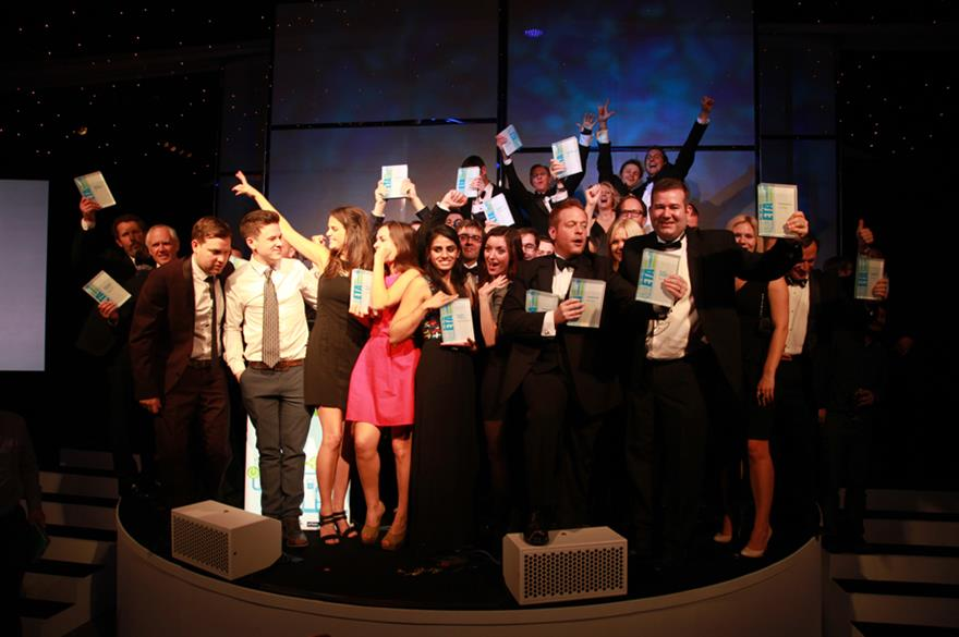 The winners at the inaugural Event Technology Awards