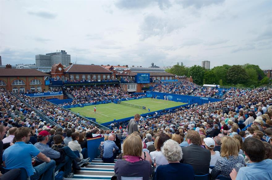 Keith Prowse has been awarded the hospitality contract for next year's Aegon Championships