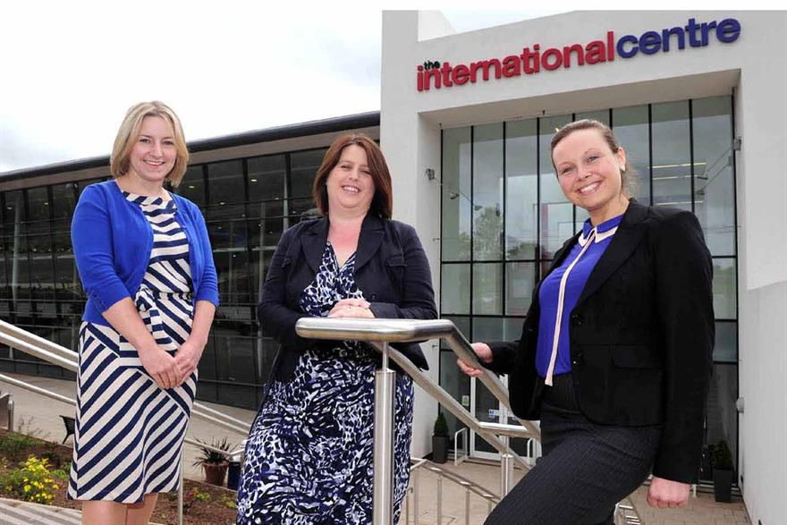 Event managers join The International Centre, Telford