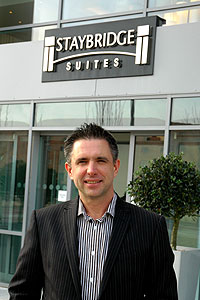 Mark Armstrong - general manager of IHG's Staybridge Suites Newcastle