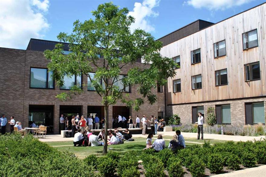 Johnson Matthey picked Clare College for its technology event