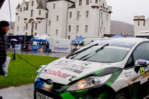 Peugeot and Skoda among corporates at Blair Castle