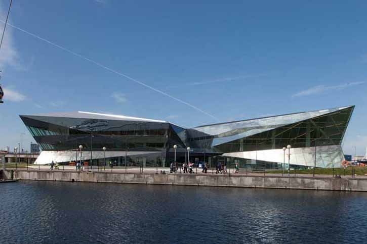 Siemens Crystal building will host the Sustainable Events Summit 2013