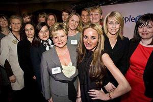 Women at last year's Shine awards