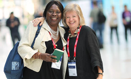 Delegates at this year's World Library and Information Congress in Helsinki