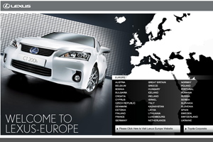 Lexus Europe appoints Deeper Blue for European training event