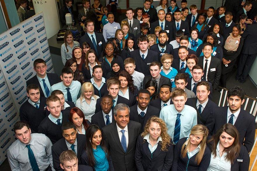 Barclays hires Congress Centre for London apprentice event