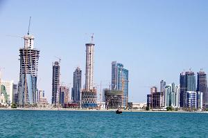 Doha City - new Crowne Plaza - The Business Park opens
