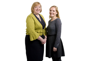 Ford's Liz Pelling and Imagination's Lynne Norris