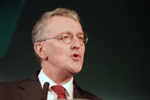 Defra secretary of state Hilary Benn