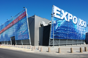 Warsaw International Expocentre Expo XXI expands