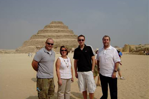 UK agencies visit Cairo with Four Seasons and BMI