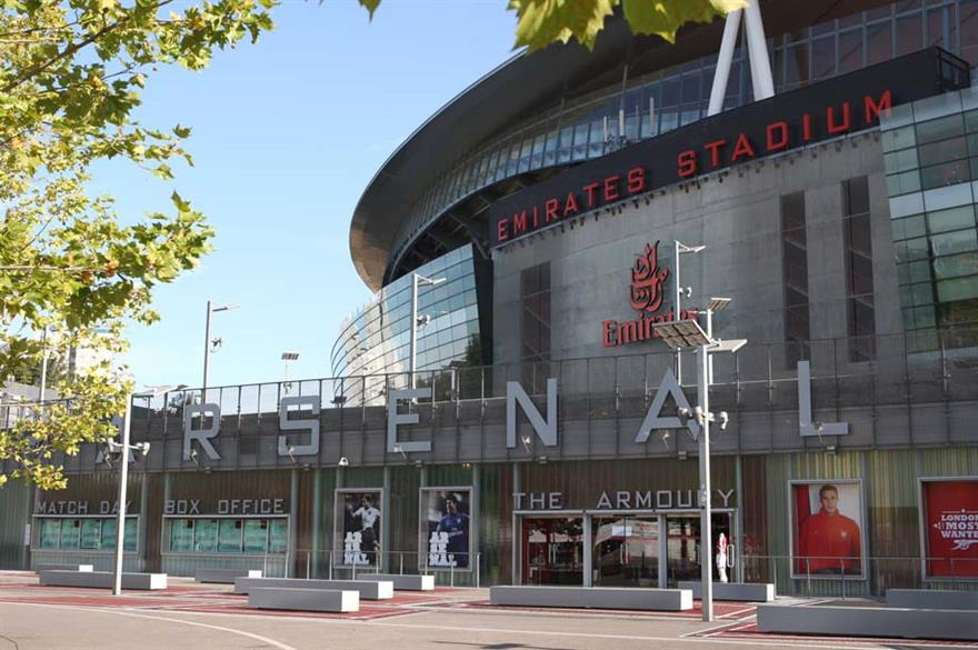 Arsenal Football Club's  Emirates Stadium