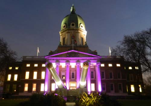 The Imperial War Museum is ideal for an evening reception