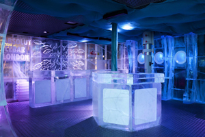 Absolut Icebar London revamps event space