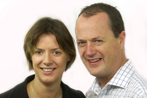 Dish directors Fiona Stewart-Brown and Nick James