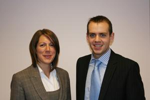 AECC new recruits: Paula McDonald and Jordan Hewitt