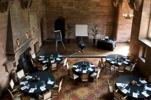 Peckforton Castle reports boost in conferences