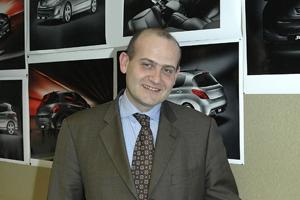 Peugeot marketing director UK Christian Stein