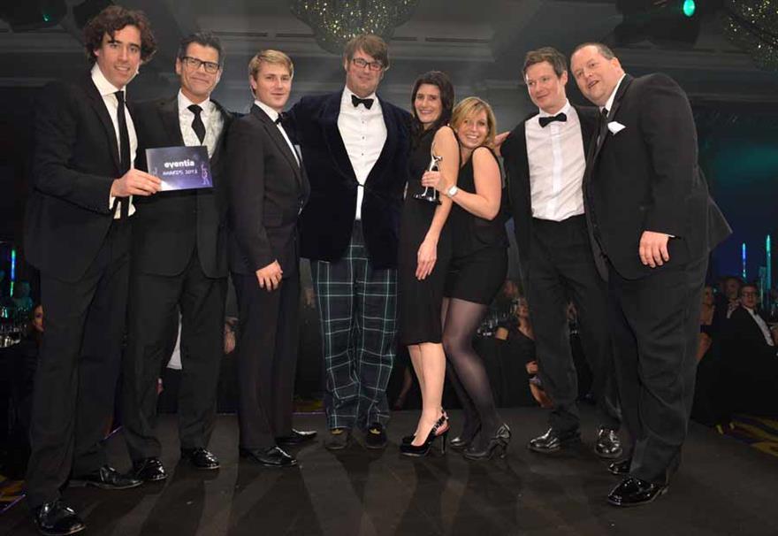 RPM scoops the Eventia Platinum Award 2012