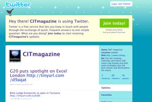 C&IT on Twitter