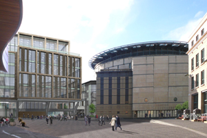 The proposed Edinburgh International Conference Centre expansion