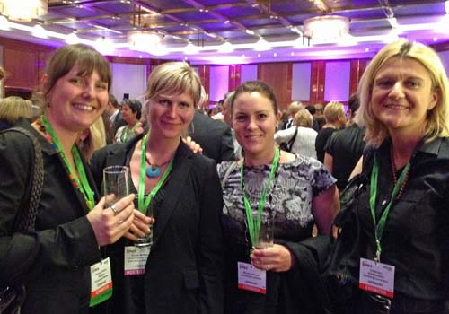 The Westin Hotel in Frankfurt hosted more than 900 people for a networking evening