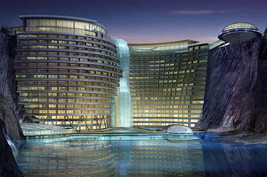 Intercontinental to open 'cave' hotel in China