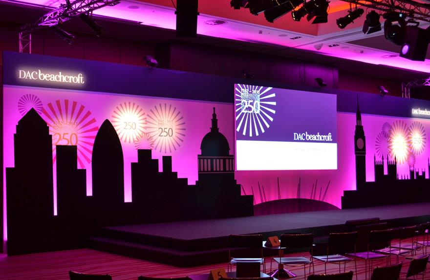 DAC Beachcroft worked with TBA on its annual partners conference 2012