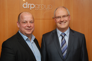 DRP Group MD Dale Parmenter with IOD event organiser Francis Christie