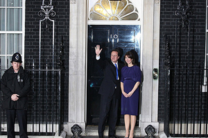 David Cameron is the new prime minister
