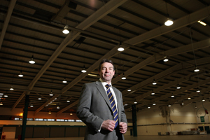 Stoneleigh Park commercial director Paul Southern
