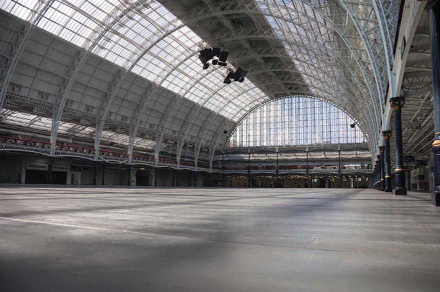 New-look brand incorporates Olympia's barrelled roof